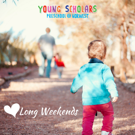 Love Long Weekends
