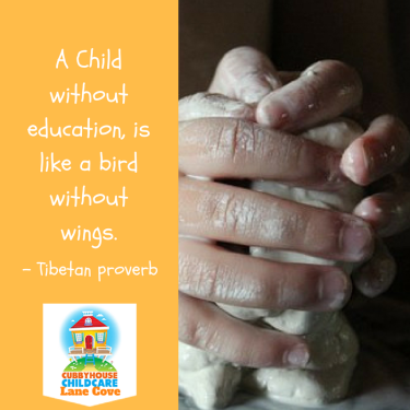 Early Learning Quote Cubbyhouse Childcare