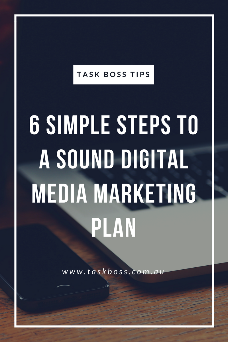 6 simple steps to a sound digital media marketing plan